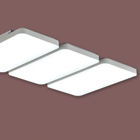 LED 시스템사출 거실6등 150W (국산/KC) (1120*698*85) 6500K