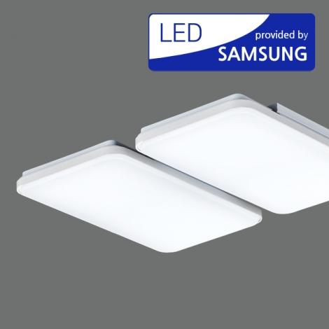 LED 뉴 엠보 거실4등 100W (국산/KC) (745*655*70) 6500K