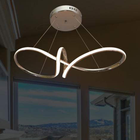LED실버라인 1등 펜던트 (40W)