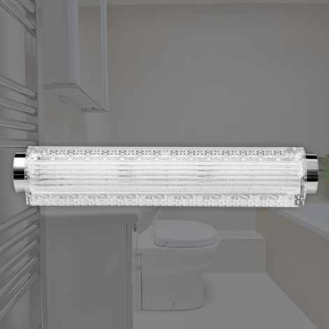 LED (크리스털) 욕실2등 원형 터널등 25W (국산/KC) (460*83*70) 6500K