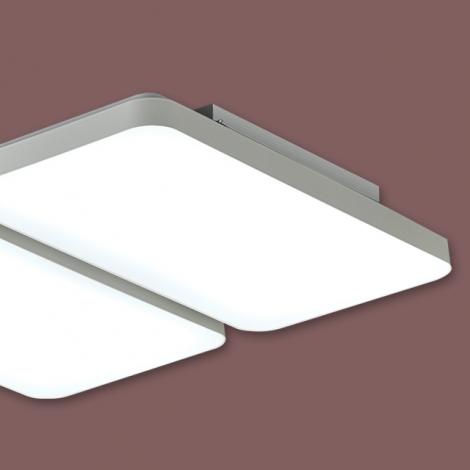 LED 시스템사출 거실4등 100W (국산/KC) (735*698*85) 6500K