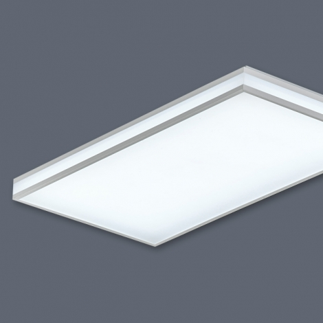LED 심플라인 거실2등 50W (국산/KC) (350*700*85) 6500K